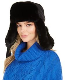 DKNY Faux-Fur Trapper Hat