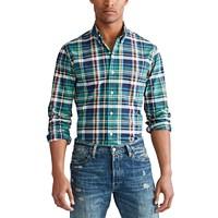 Deals on Polo Ralph Lauren Mens Classic Button-Down Oxford Shirt
