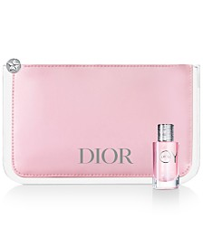 Receive an exclusive JOY by Dior Pouch and Deluxe Mini with any $130 Dior Women's Fragrance Collection Purchase