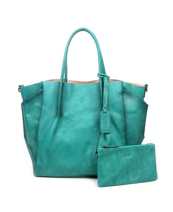 OLD TREND Sprout Land Leather Tote Bag
