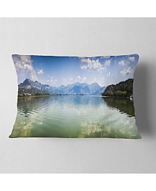 Design Art Designart Beautiful Sea Cave In Greece Landscape Printed Throw Pillow 12 X 20 Reviews Decorative Throw Pillows Bed Bath Macy S