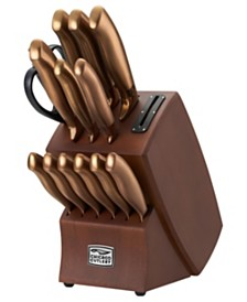 Chicago Cutlery Insignia Bronze 14-Pc. Cutlery Set