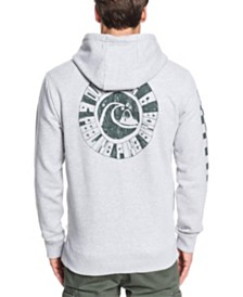 Quiksilver Men's Quik Vinyl Screen Print Fleece Hoodie
