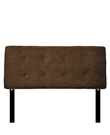 Bella Adjustable Upholstered Headboard, Twin Size