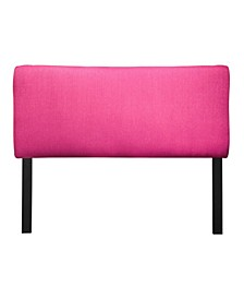 Candice Adjustable Upholstered Headboard, Twin Size