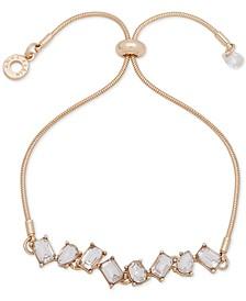 Stone Crystal Slider Bracelet