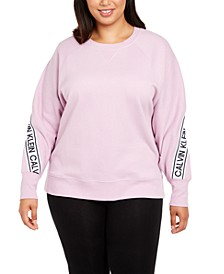 Plus Size Logo Sweatshirt