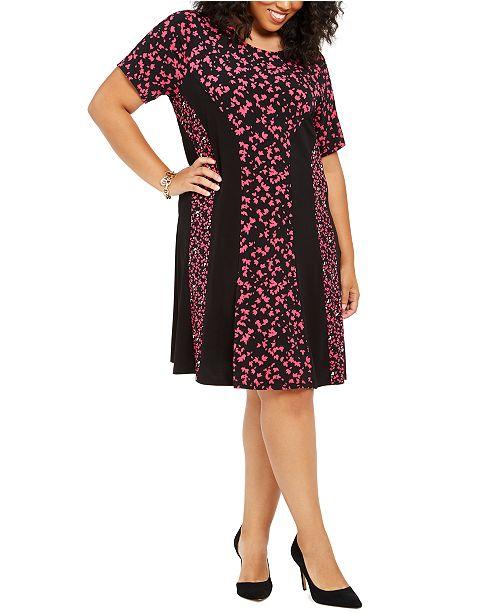 Michael Kors Plus Size Maple Grove Shift Dress