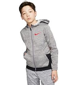 Nike Big Boys Dri-FIT Therma Elite Zip-Up Hoodie
