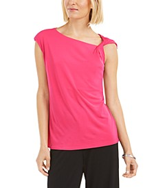 Asymmetrical Knotted Top, Created for Macy's