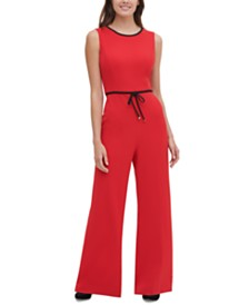 Tommy Hilfiger Piped Jumpsuit