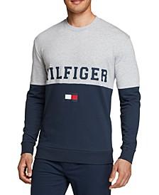 Men's Colorblocked Pajama Shirt