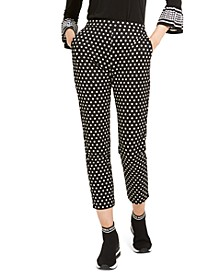 Mod Dot Pull-On Trousers