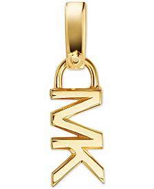 Michael Kors Sterling Silver Logo Charm