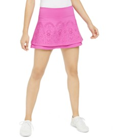 Ideology Perforated Tiered Skort, Created for Macy's
