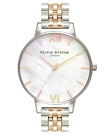 Olivia Burton Women's Two-Tone Stainless Steel Bracelet Watch 38mm