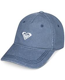 Big Girls Embroidered-Logo Baseball Cap