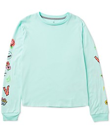 Volcom Big Girls Printed-Sleeve T-Shirt