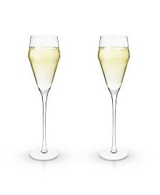 Viski Raye Prosecco Glasses