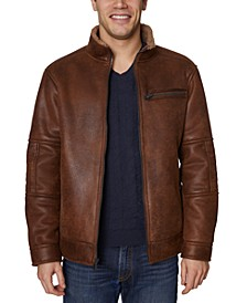 Men's Faux-Shearling Jacket