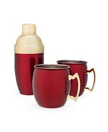 Twine Mule Mug Cocktail Shaker Gift Set