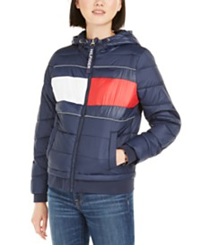 Tommy Hilfiger Quilted Colorblocked Jacket