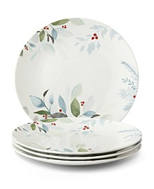 Frosted Pines Dinner Plate, Set of 4