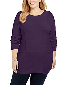 Plus Size Knit Tunic, Created for Macy's