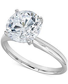 Diamond Solitaire Engagement Ring (2-3/4 ct. t.w.) in 14k White Gold