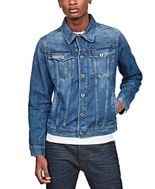 Men's 3301 Denim Trucker Jacket, Created for Macy's