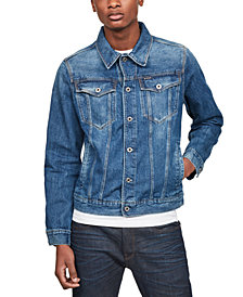 G-Star RAW Men's 3301 Denim Trucker Jacket, Created for Macy's