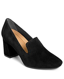 High Honor Block Heel Pumps
