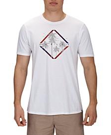 Men's Palm Trees Graphic T-Shirt