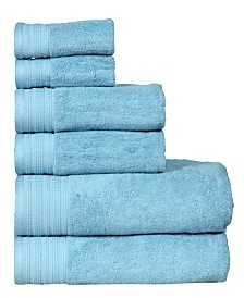 City Line Resort 6-Pc. Towel Set