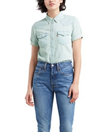 Levi's® Ultimate Short-Sleeve Western Shirt