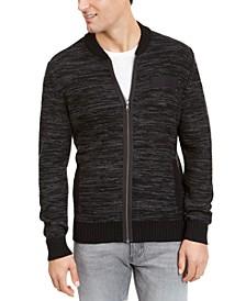 Men's Textured Zip-Front Cardigan, Created For Macy's