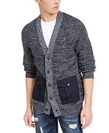 Men's Textured Cardigan, Created For Macy's