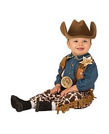 BuySeasons Little Cowboy Infant-Toddler Costume