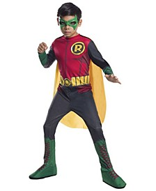 Big Boy's DC Comics Robin Photo Real Costume