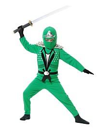 BuySeasons Boy's Ninja Avenger with Armor Child Costume - Jade