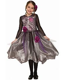 BuySeasons Girl's Sweet Skeleton Child Costume