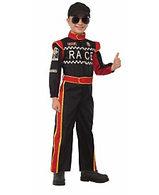 BuySeasons Boy's Race Car Driver Child Costume