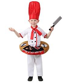 BuySeasons Boy's Hibachi Chef Table Top Child Costume