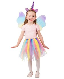 BuySeasons Girl's Unicorn Skirt Set