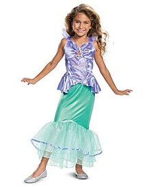 Toddler and Big Girl's Ariel Classic Costume