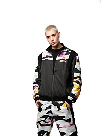 ARTISTIX Ripstop Camo Track Jacket with Ergonomic Shoulder Inset