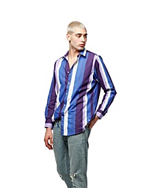 Multi Stripe Poplin Shirt