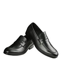 Mens's Leather Saddle Loafer