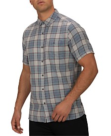 Hurley Men's Trooper Plaid Shirt