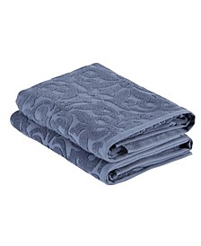 Patchouli Bath Towels 2-Pc. Set